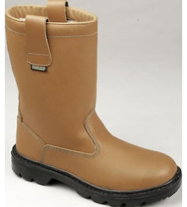 Tuffking 9050 Tan Fur Lined Rigger Boot