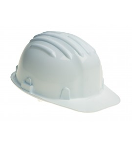 Warrior Hard Hat White