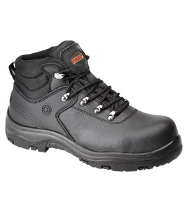 Samson Waterproof Black Hiker Boot