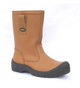 Tuffking 9049 Tan Furlined Rigger Boot