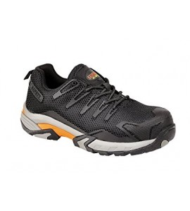 SAMSON Metal Free Black Safety Trainers