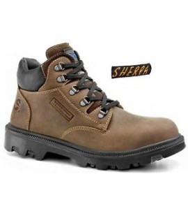 Secor Sherpa Brown Steel Toe Cap Safety Boot